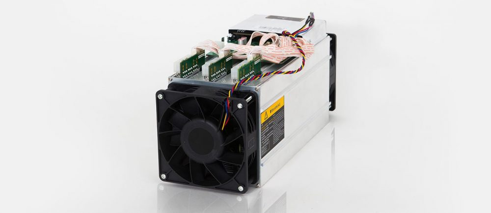 AntMiner S9 14TH/S Bitcoin Miner Product Photo